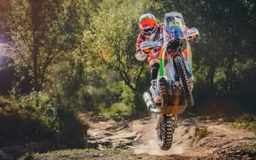 Laia Sanz in KTM 450 RALLY 2016