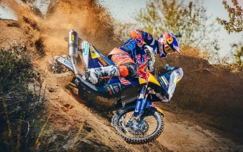 Toby Price in KTM 450 RALLY 2016