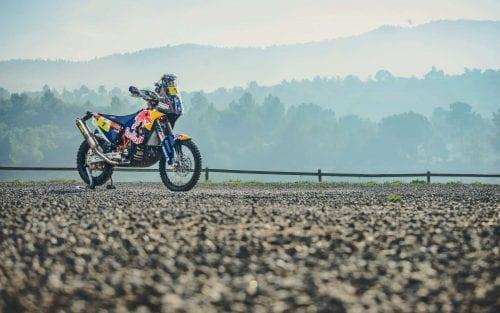 Toby Price KTM motorcycle shot