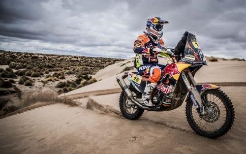 Matthias Walkner KTM 450 RALLY Dakar 2017