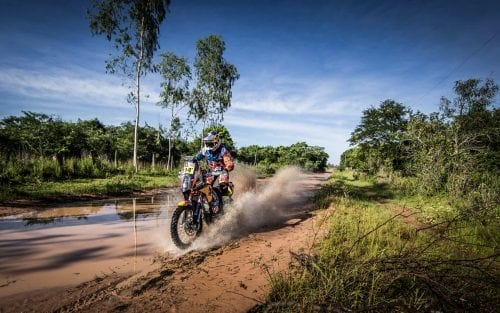 Sam Sunderland KTM 450 RALLY Dakar 2017