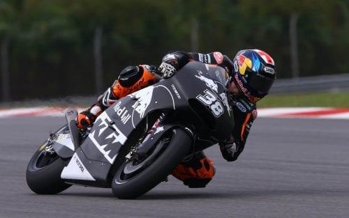 Bradley Smith on KTM RC16 in Sepang 2017
