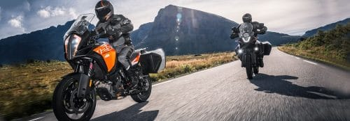 KTM 1290 Super Adventure R and KTM 1090 Adventure R 2017