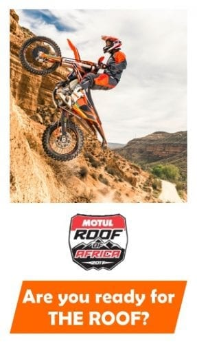 Raceworx KTM - Roof of Africa Support Package