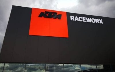 HUGE EXCITEMENT at Raceworx KTM!