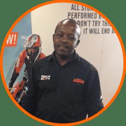 Raceworx KTM - Eddie Mabaso