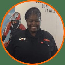 Raceworx KTM - Eunice Rambau