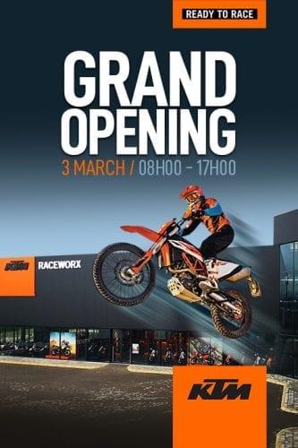 Raceworx Grand Opening