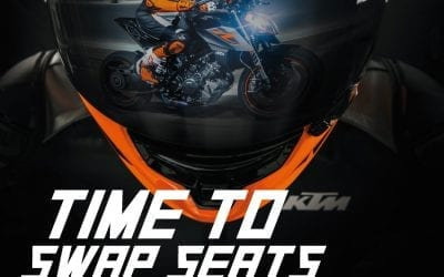 Receive a trade-in bonus when you trade up to a new KTM V-TWIN – 2018 1290 Super Duke R
