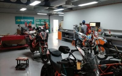 Book a service at Raceworx KTM