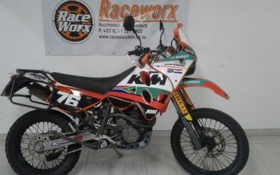 KTM 640 LC Adventure | 1999 | Pre-Owned | R35 000