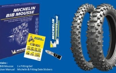 Michelin Tyre with Mousse Combo Specials