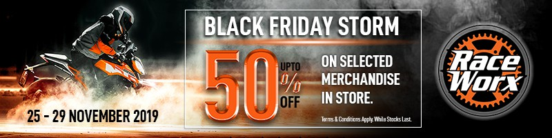 Black Friday Raceworx KTM