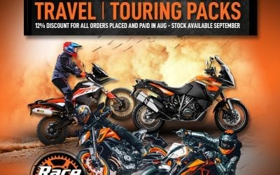 Special on selected Travel & Touring Packs