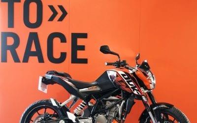 2011 KTM 125 DUKE R39 990